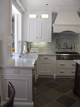 Newport Beach White Traditional Kitchen Remodel